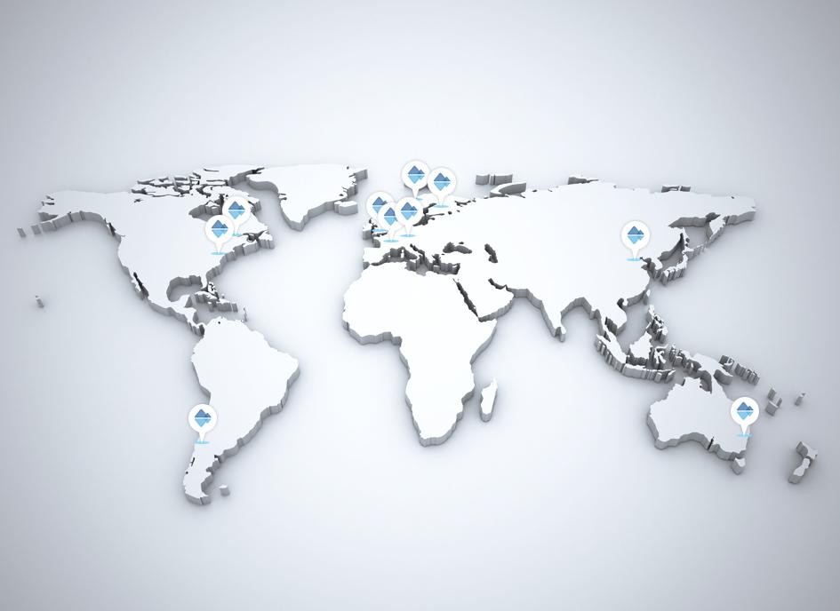 World map silver 3d illustration